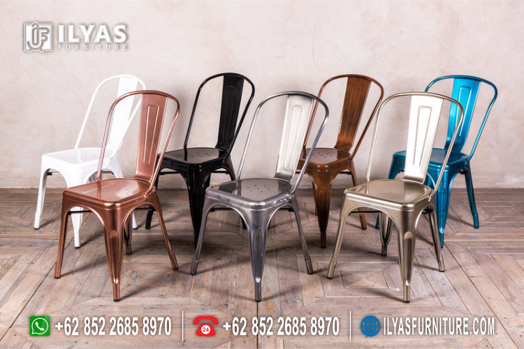Kursi Cafe Besi Minimalis Terbaru If 0144 Ilyas Furniture Ilyas Furniture