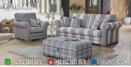 Jual Sofa Ruang Tamu Minimalis If 0077 Ilyas Furniture