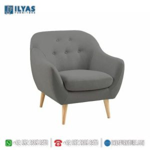 Sofa Retro Abu Abu Terbaru Murah If-0121